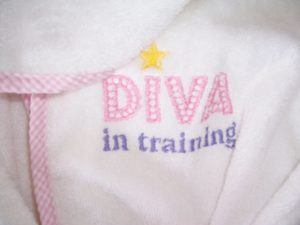 Personalized Bath Swaddle